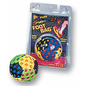 "Fun Gripper 2.5"" Footbag 950"